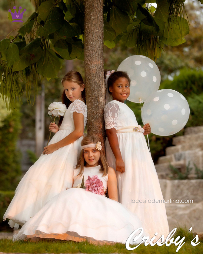 Trajes de Comunion 2017, Blog Moda Infantil, La casita de Martina, Crisby Vestidos Comunion