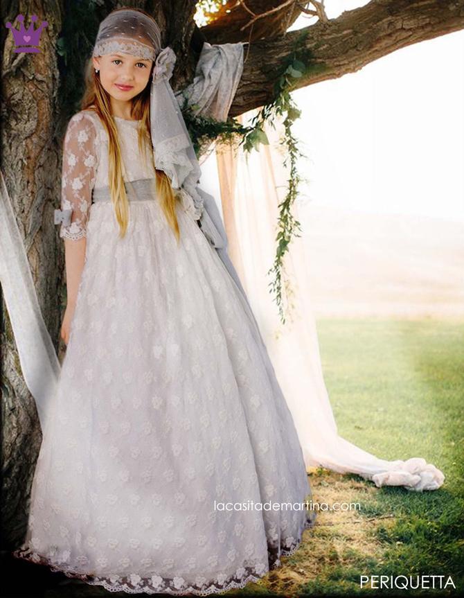 Trajes de Comunion 2017, Blog Moda Infantil, La casita de Martina, Periquetta Vestidos Comunion