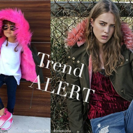 Parka capucha de colores, Blog de Moda Infantil, La casita de Martina, Carolina Simo