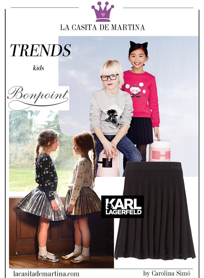 Tendencias Moda Infantil, Blog de Moda Infantil, La casita de Martina, Carolina Simo, Moda Infantil, Bonpoint, Karl Lagerfeld