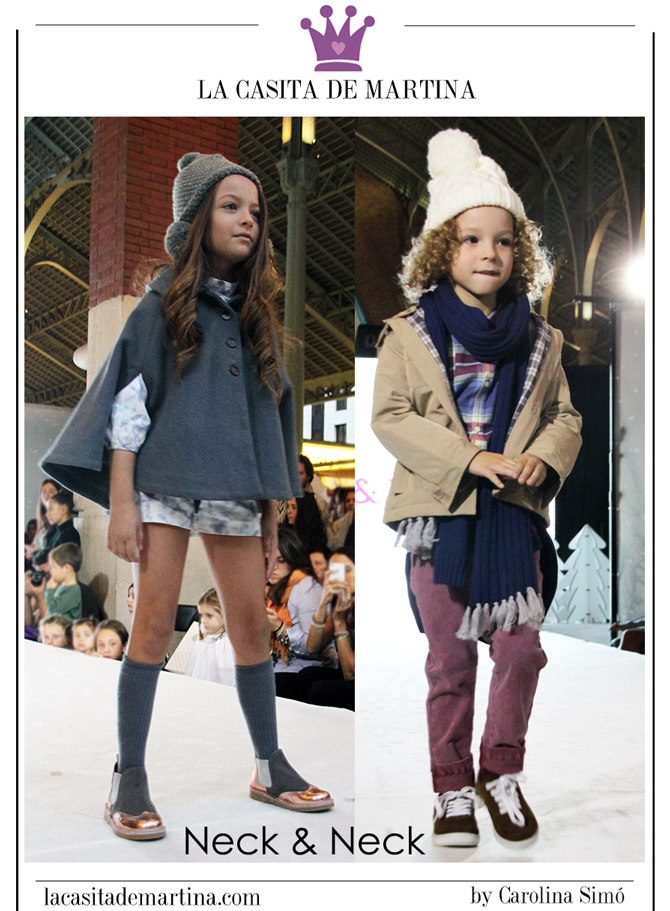 Petit Style Walking, Blog de Moda Infantil, Desfile Moda Infantil, La casita de Martina, Kids Wear, Neck and Neck