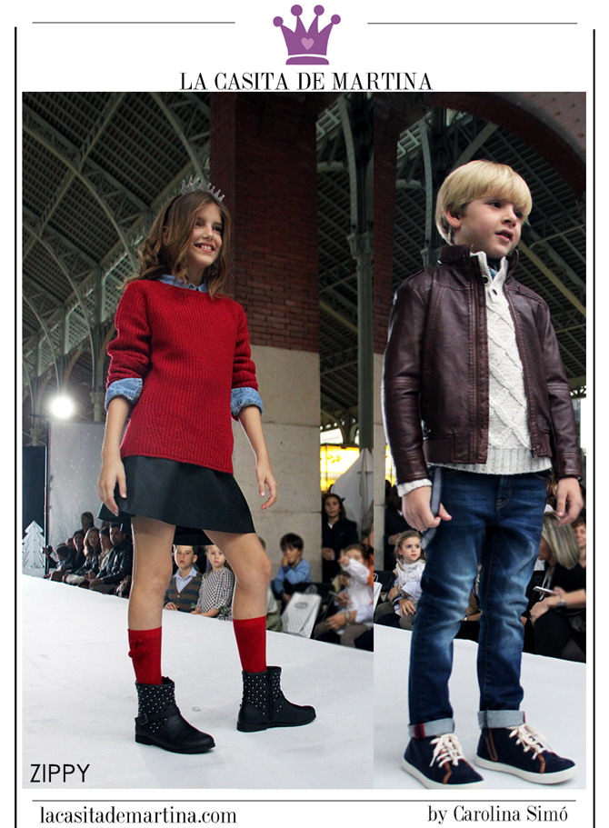 Petit Style Walking, Blog de Moda Infantil, Desfile Moda Infantil, La casita de Martina, Kids Wear, Zippy