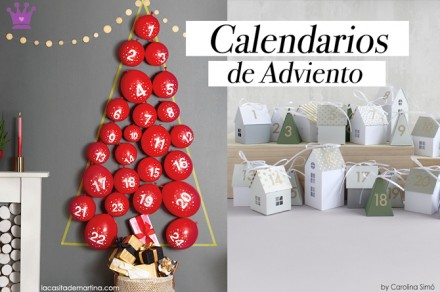 Calendarios de Adviento, Decoracion Navidad, Blog de Moda Infantil, La casita de Martina, Carolina Simo