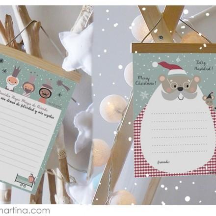 Carta para los Reyes Magos, Carta para Papa Noel, Decohappy, Blog de Moda Infantil, La casita de Martina