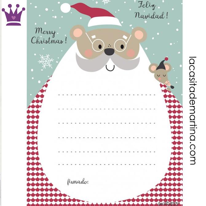 Carta para los Reyes Magos, Carta para Papa Noel, Decohappy, Blog de Moda Infantil, La casita de Martina, 2
