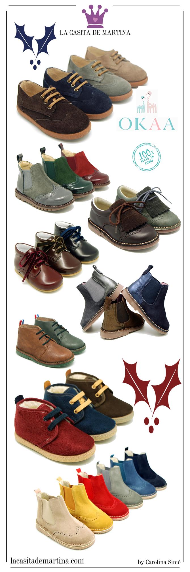 El calzado infantil para esta navidad es de okaaspain for La casita de martina