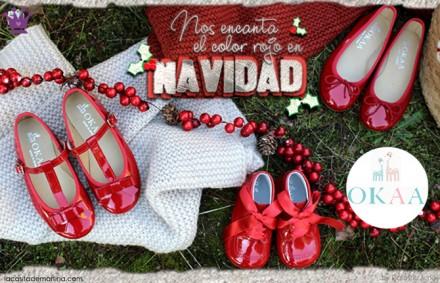 Calzado Infantil, Navidad, Zapatos infantiles, Moda Infantil, Okaaspain, La casita de Martina, Blog de Moda Infantil