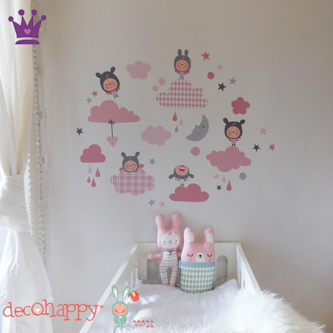 Vinilos Infantiles, Decoracion habitacion bebes, Habitaciones estilo nordico, Decohappy, La casita de Martina, Blog de Moda Infantil, 2