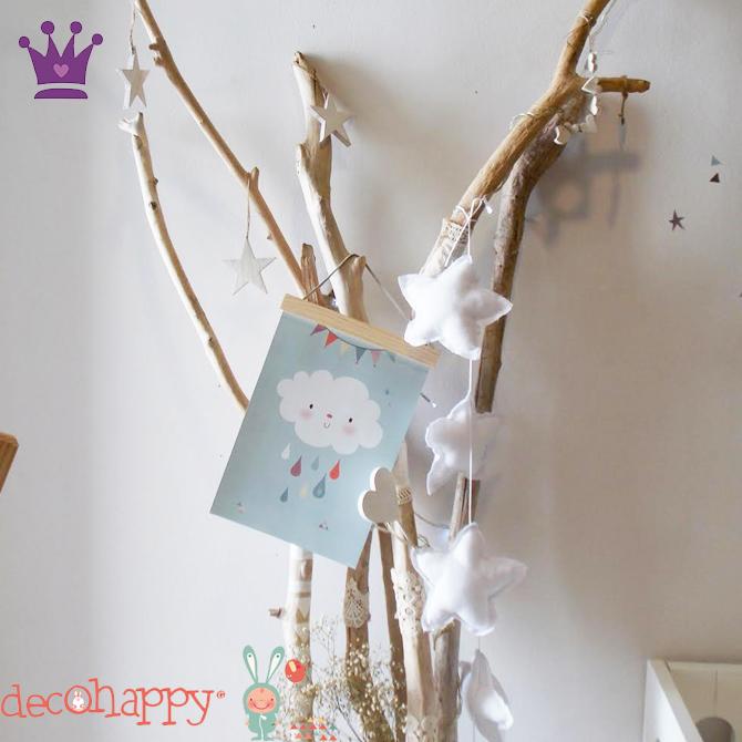 Vinilos Infantiles, Decoracion habitacion bebes, Habitaciones estilo nordico, Decohappy, La casita de Martina, Blog de Moda Infantil, 4