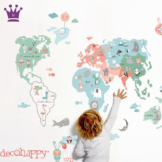 Vinilos Infantiles, Decoracion habitacion bebes, Habitaciones estilo nordico, Decohappy, La casita de Martina, Blog de Moda Infantil, 5