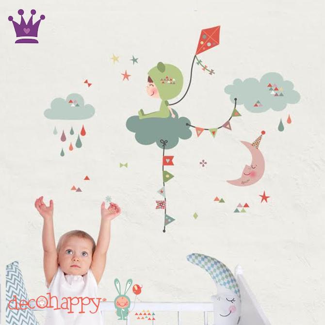 Vinilos Infantiles, Decoracion habitacion bebes, Habitaciones estilo nordico, Decohappy, La casita de Martina, Blog de Moda Infantil, 7