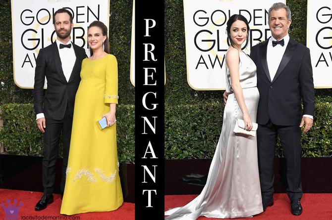 Mejor vestidas Globos de Oro, Peor vestidas Globos de oro, Moda Premama, Moda embarazada, Blog Moda Embarazada, La casita de Martina