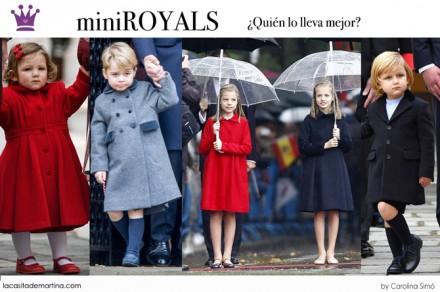 Dinamarca Mery e Isabella, Blog de Moda Infantil, Leonor y Sofia, George de Inglaterra, Kids Wear, La casita de Martina, Moda Infantil
