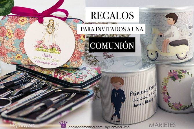 Detalles para invitados a una comunion, regalos invitados a una comunion, regalos invitados primera comunion, la casita de martina
