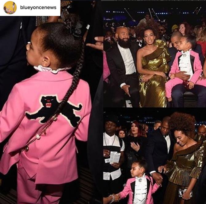 Gucci, Beyonce premios Grammy, bolso Blue Ivy Gucci, Blog de Moda Infantil, La casita de Martina, 3