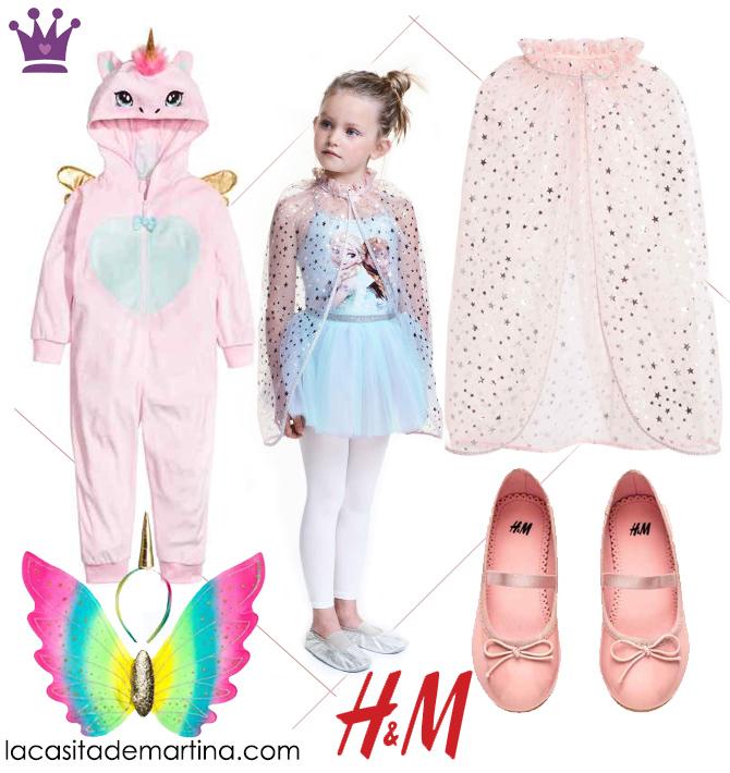 Disfraces carnaval baratos, disfraces originales, hym, Blog de Moda Infantil, La casita de Martina, 2