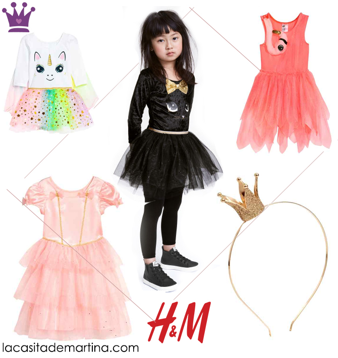 Disfraces carnaval baratos, disfraces originales, hym, Blog de Moda Infantil, La casita de Martina