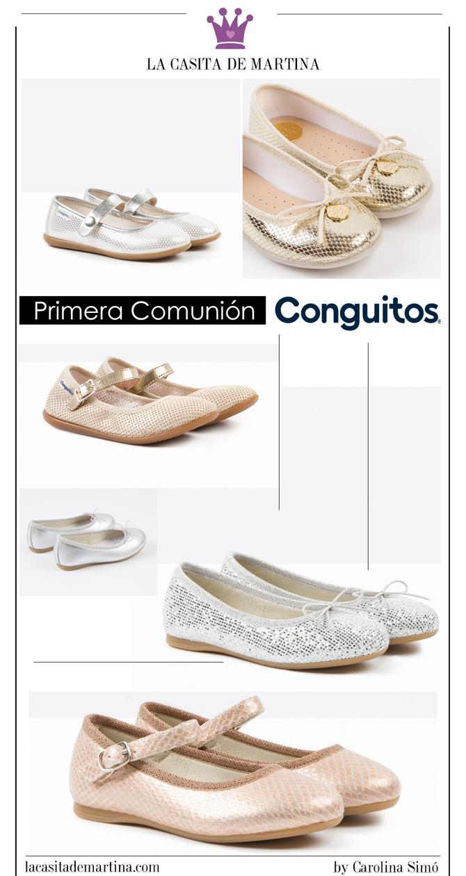 Vestidos de Comunion 2017, Trajes de Comunion 2017, Blog Comuniones, Blog Moda Infantil, La casita de Martina, Zapatos Comunion, Conguitos