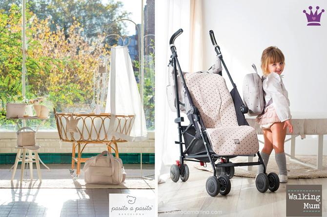Pasito a Pasito, Walking Mum, Puericultura, fundas cochecito bebe, blog de moda infantil, la casita de martina