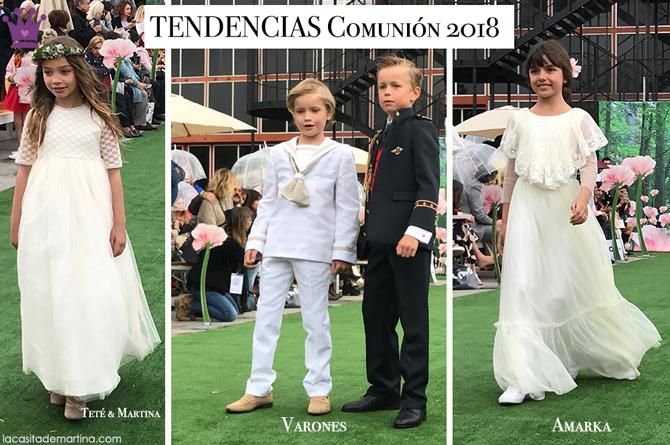 Trajes de comunion 2018, tendencias vestidos de comunion 2018, Blog comuniones, La casita de Martina, Tendencias trajes de comunion 2018