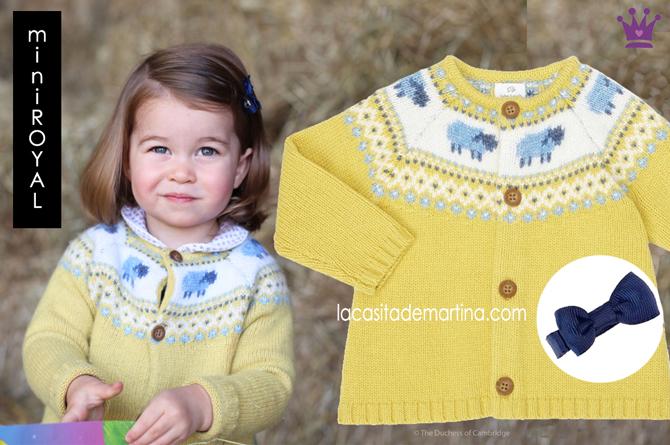 Jersey princesa Charlotte, Marca ropa Carlotte de Inglaterra, Estilista Moda Infantil, Carolina Simo, Blog de Moda Infantil, Kids Wear