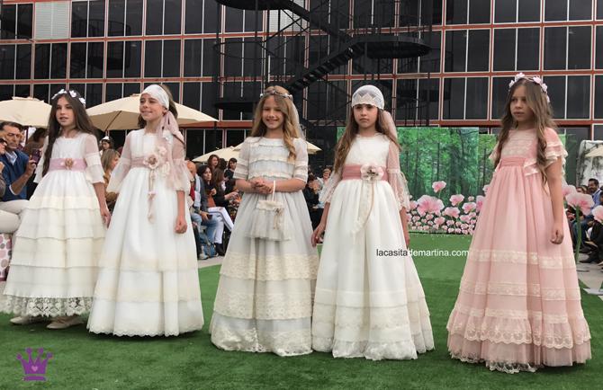 PERIQUETTA, Trajes de comunion 2018, tendencias vestidos de comunion 2018, Blog comuniones, La casita de Martina, Tendencias trajes de comunion 2018