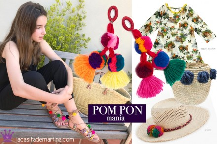 Gioseppo, sandalias pompones, Blog de Moda Infantil, Kids Wear, La casita de Martina