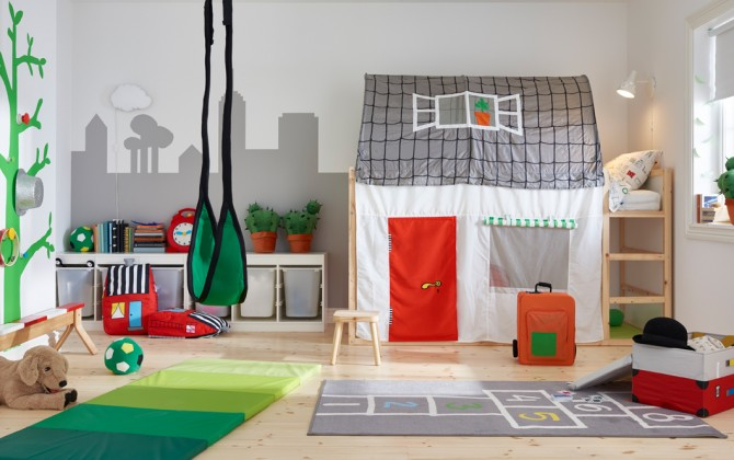10 habitaciones infantiles de ikea demasiado bonitas blogs de moda infantil moda beb y. Black Bedroom Furniture Sets. Home Design Ideas