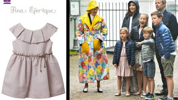 Marca vestidos princesas, Blog de Moda Infantil, Familia real Dinamarca, La casita de Martina