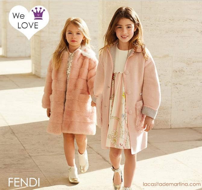 Fendi moda infantil, Blog de Moda Infantil, Niños, Kids, Kids Wear