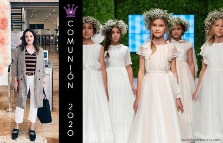 Tendencias comunion 2020, trajes comunion 2020, Carolina Simo, Dia Magico FIMI, La casita de Martina