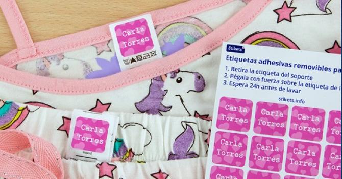 Etiquetas para marcar la ropa, Etiquetas para zapatos, Pulseras nombre, Stikets, 4