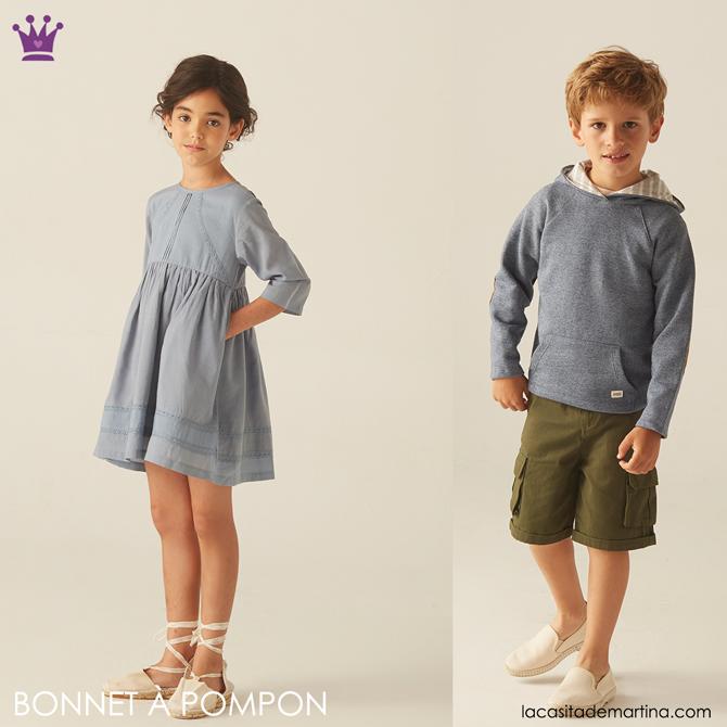 Blog de Moda Infantil, Bonnet a Pompon, La casita de Martina, Ropa de Marca