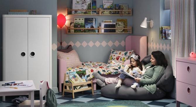 Nuevo catalogo Ikea 2018, habitaciones infantiles Ikea, Estanteria Ikea, Cuna Ikea, Blog de moda infantil, La casita de Martina, 2