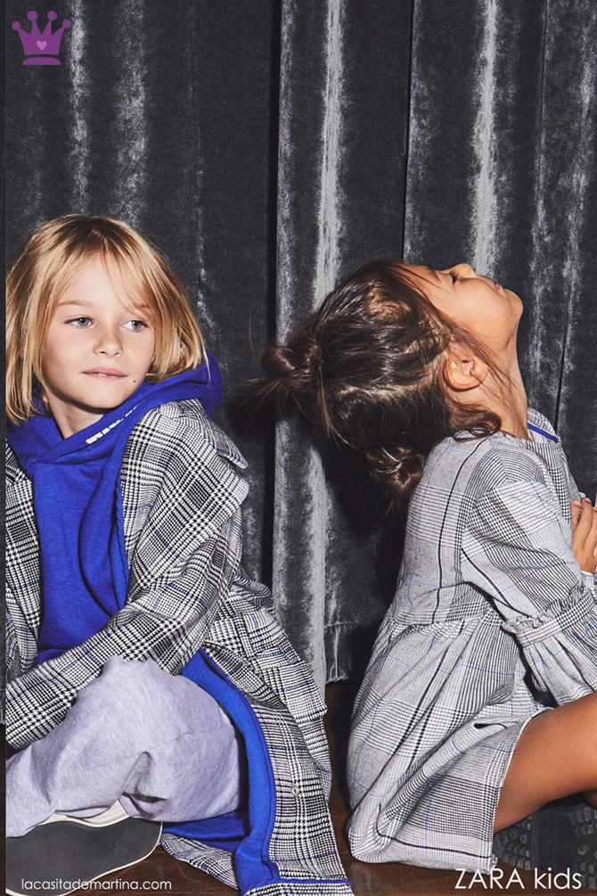 Tendencias moda infantil, cuadros Principe de Gales, Blog de Moda infantil, kids wear, La casita de Martina, Zara kids, 3
