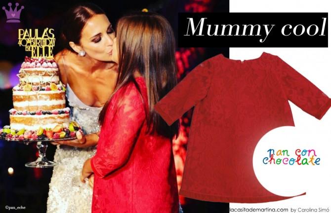 Paula Echevarria, Fiesta cumple Paula Eche, Daniella Bustamante, Blog de Moda Infantil
