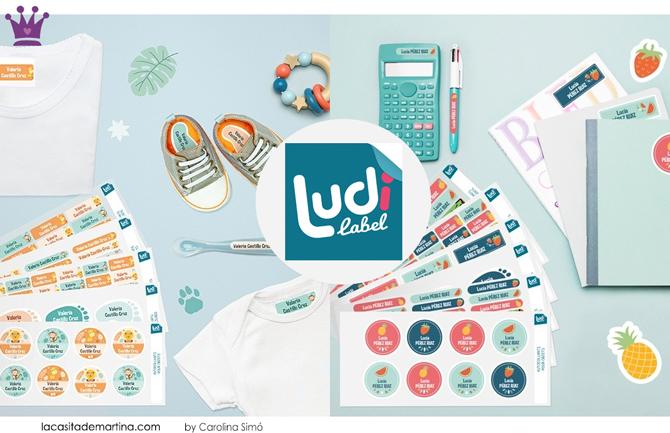 Etiquetas para ropa, Etiquetas personalizadas, Ludilabel, Blog de Moda Infantil, La casita de Martina