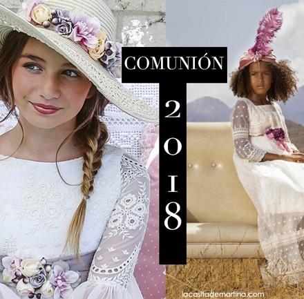 Vestidos de Comunion 2018, Trajes Comunion 2018, Blog Comuniones, Blog Primera Comunion, La casita de Martina