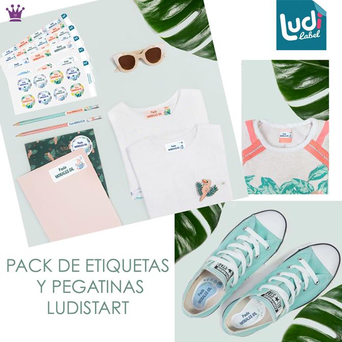 Etiquetas para ropa, etiquetas vuelta al cole, ludilabel, blog moda infanitl