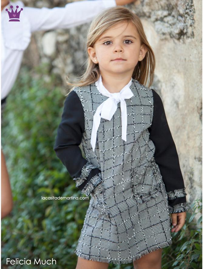 Tendencias moda infantil, cuadros Principe de Gales, Blog de Moda infantil, kids wear, La casita de Martina, Felicia Much