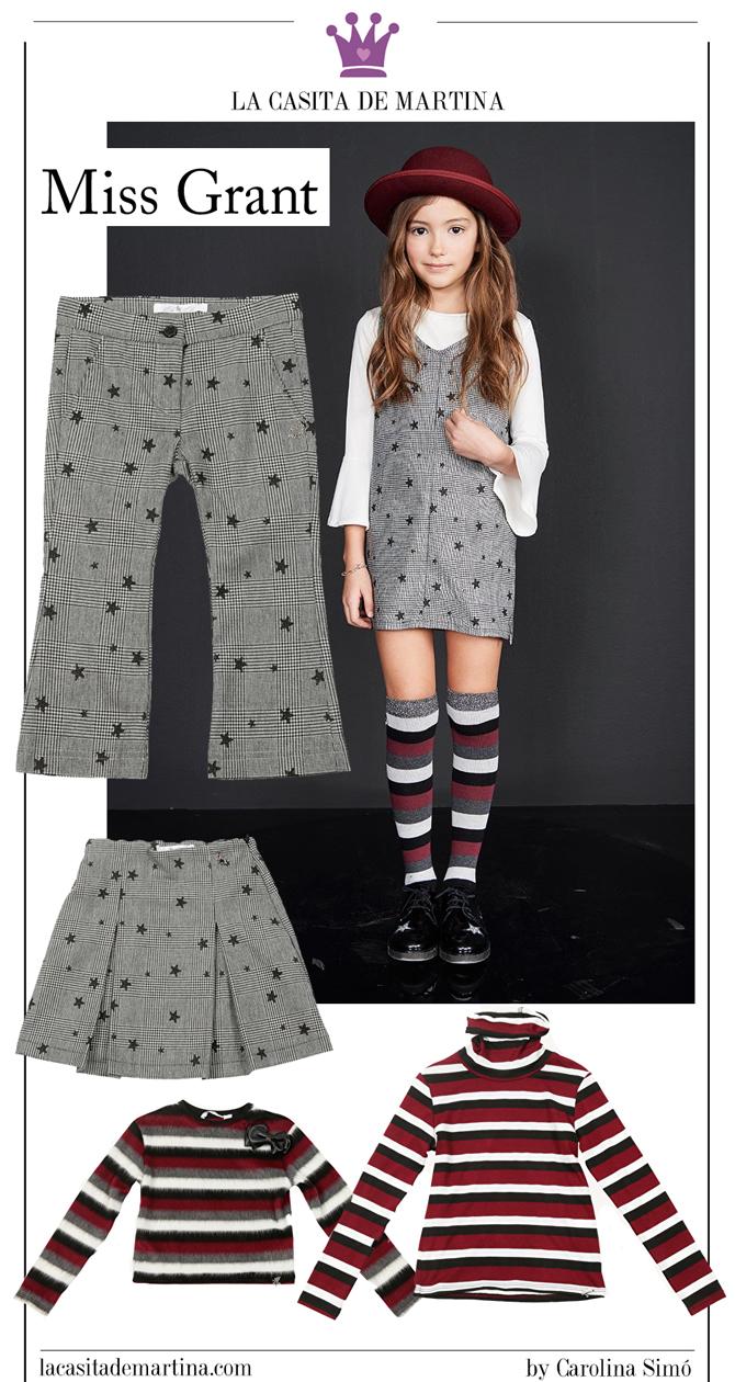 Tendencias moda infantil, cuadros Principe de Gales, Blog de Moda infantil, kids wear, La casita de Martina, Miss Grant