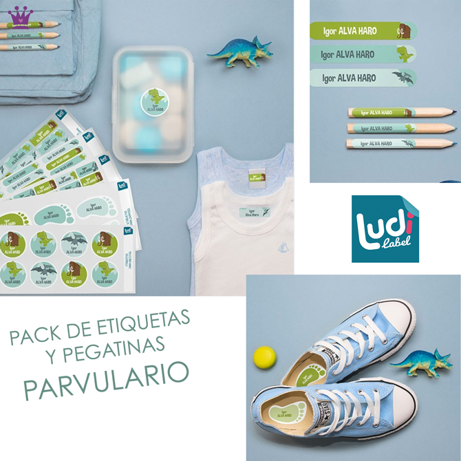 Etiquetas Parvulario, Etiquetas para ropa, etiquetas vuelta al cole, ludilabel, blog moda infantil