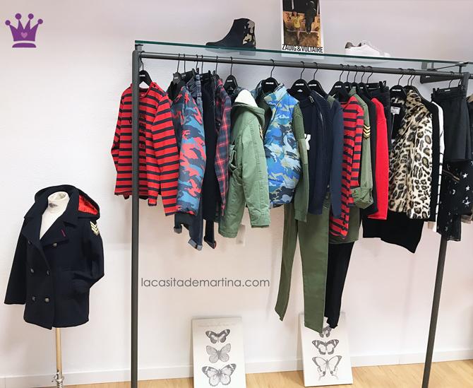Marcas de moda infantil, Blog de moda infantil, la casita de martina, Karl Lagerfeld, Zadig-Voltaire
