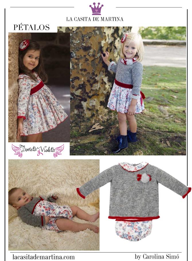 Blog de Moda Infantil, Dovieta y Violeta, Marca ropa infantil, La casita de Martina, Made in Spain