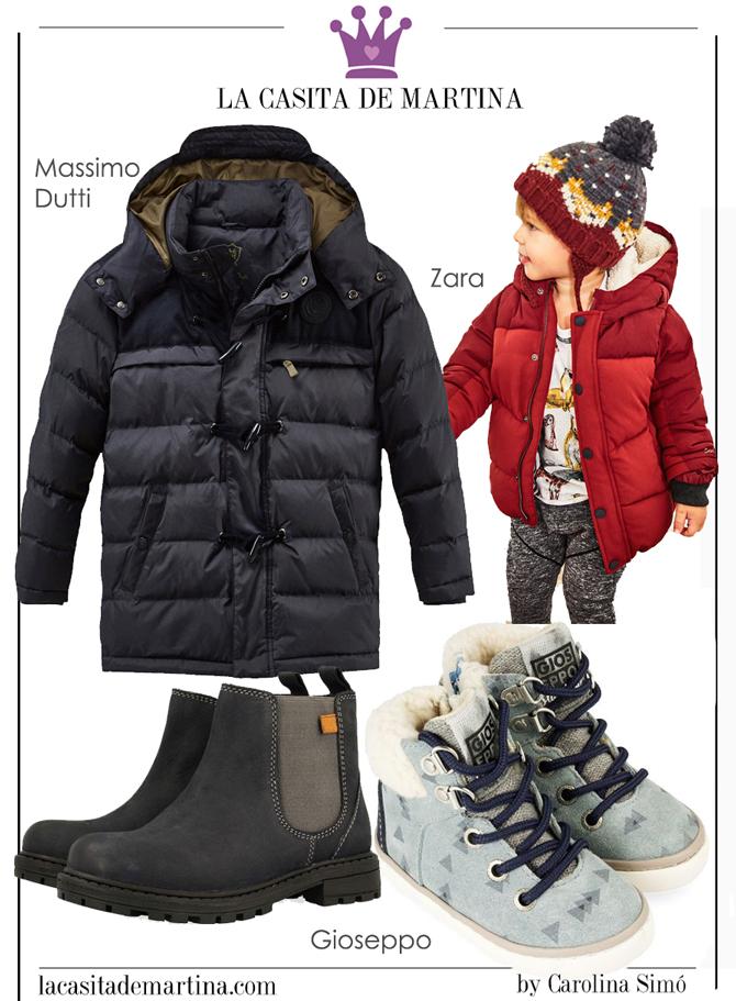 Tendencias moda infantil, Gioseppo, Zara, Massimo Dutti, La casita de Martina, Carolina Simo