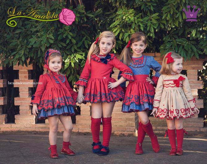 Blog Moda Infantil, La amapola moda infantil, Vestidos bonitos, la casita de Martina , Kids wear