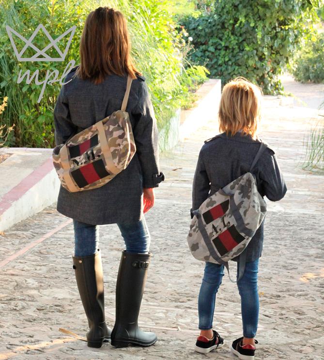Ma Petite Lola, Bolsa personalizada con iniciales, Mpl, Blog de Moda Infantil, La casita de Martina