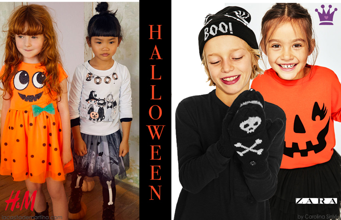 Disfraces Halloween, Blog moda infantil, Zara, HM, La casita de Martina