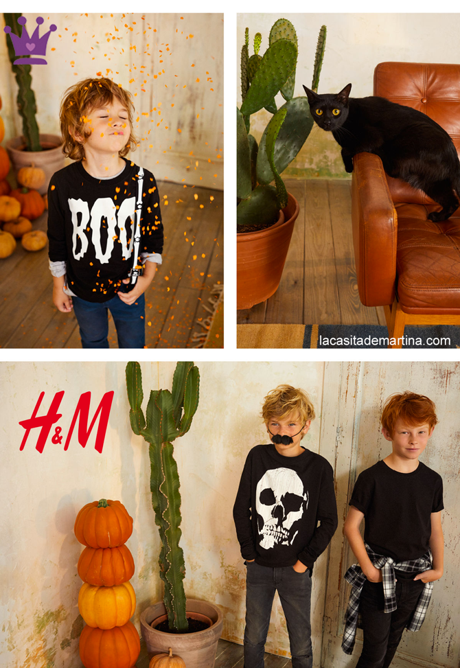 Blog de moda infantil, Halloween, disfraces hallowen, Hm, La casita de Martina