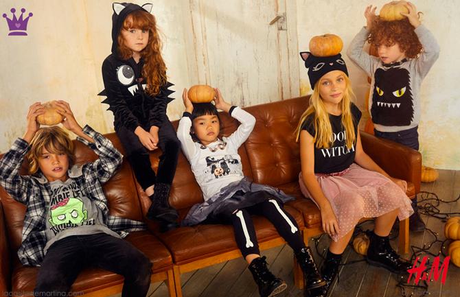 Blog de moda infantil, Halloween, disfraces hallowen, Hm, La casita de Martina